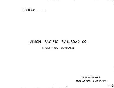 1943 UP Freight Car Diagrams Book