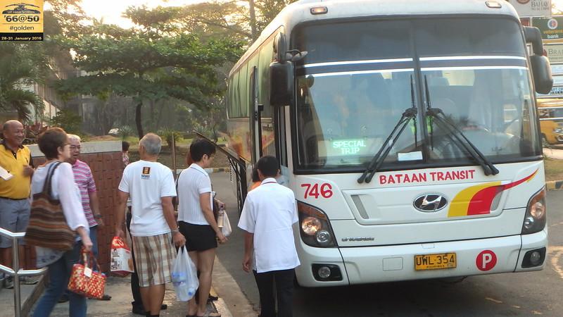 UPHS  '66@50 Bataan Tour Day 1