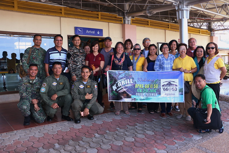 UPHS '66@50 Coron, Palawan  Day 1