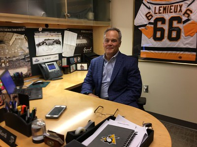 Mark Turley's office (PPG Arena)