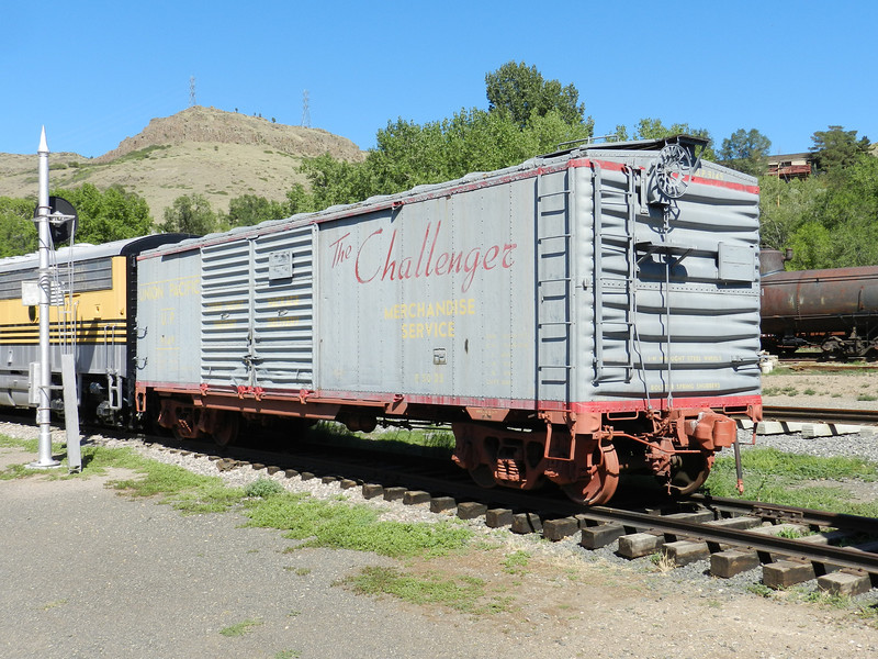 UP 9149 class B-50-25 at CRM in Golden, CO.<br /> Left side, B-end.<br /> July 2012.