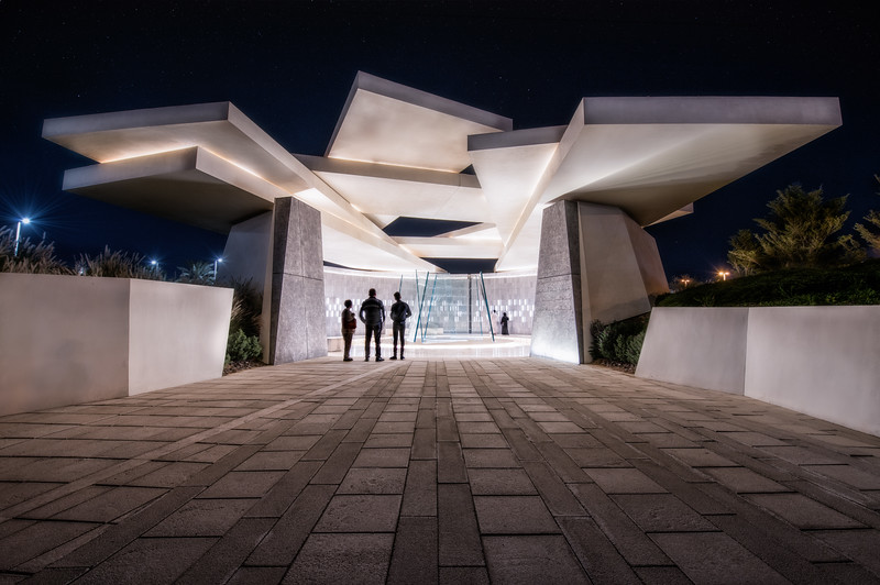 Martyrs Memorial - Abu Dhabi