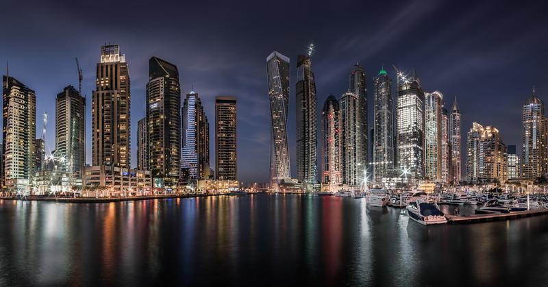 Dubai Marina Skyline