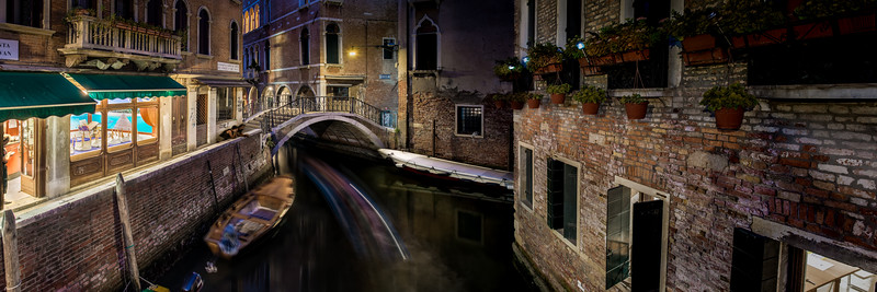 Canal Junction, Venice.