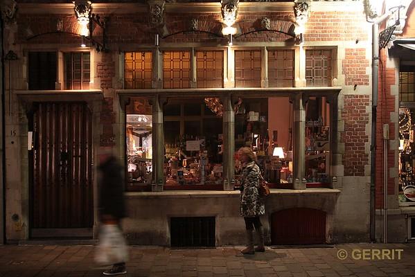 Brugge by night