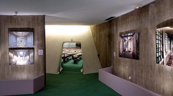 """""""Temps suspendu - Exploration urbaine"""" à l'Espace Niemeyer (09/2016)"""