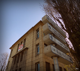 Ancien siège de Météo France (02/2014)