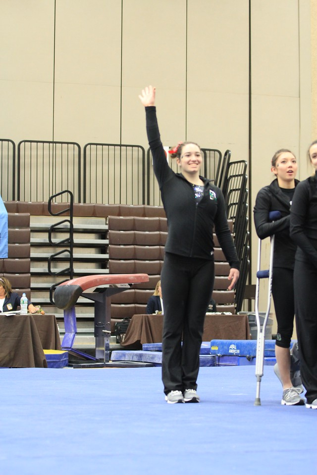 URI Gymnastics @ Brown January 24 2014 28