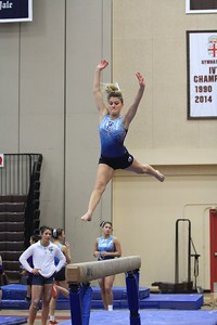URI Gymnastics @ Brown January 24 2014 10
