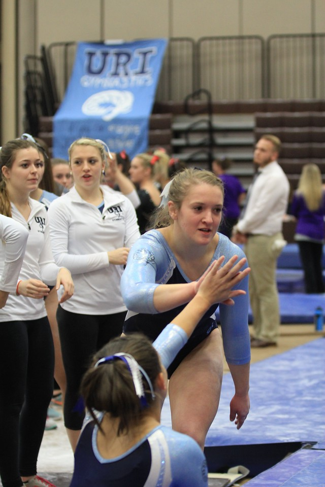 URI Gymnastics @ Brown January 24 2014 456