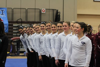URI Gymnastics @ Brown January 24 2014 30