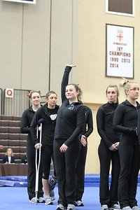 URI Gymnastics @ Brown January 24 2014 26