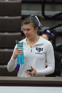 URI Gymnastics @ Brown January 24 2014 18