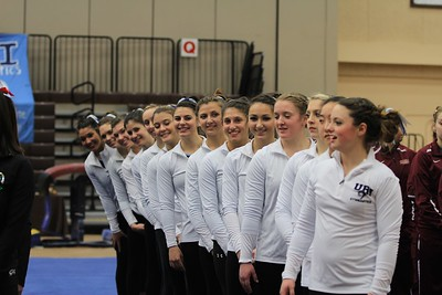 URI Gymnastics @ Brown January 24 2014 29