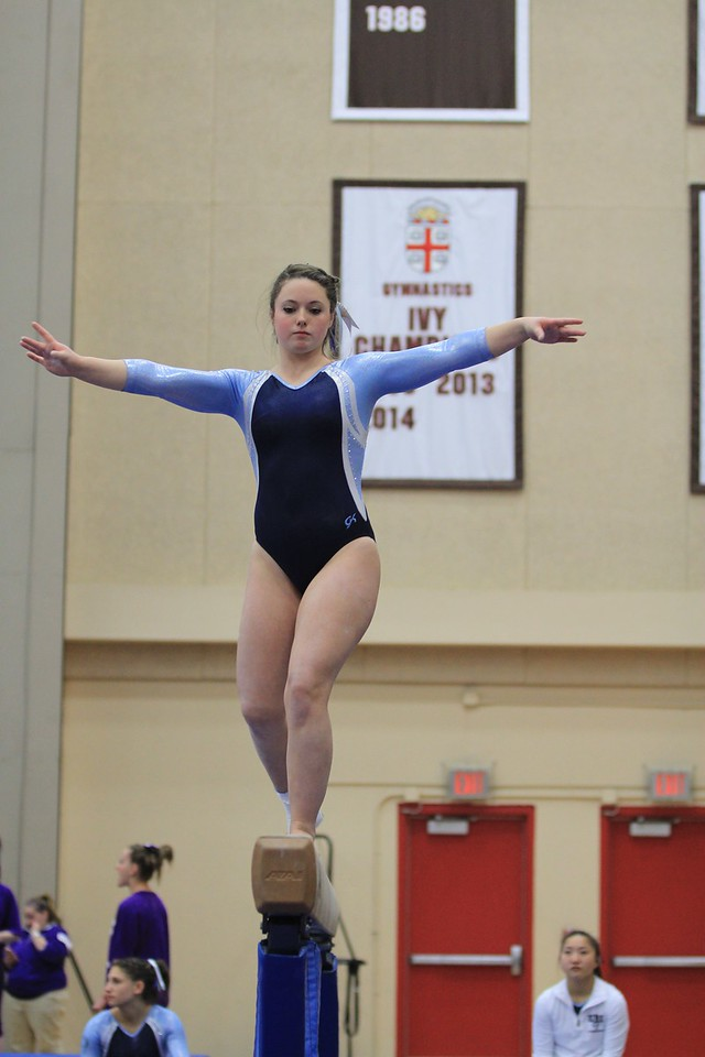URI Gymnastics @ Brown January 24 2014 420