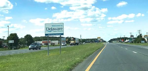 Delaware was my destination.