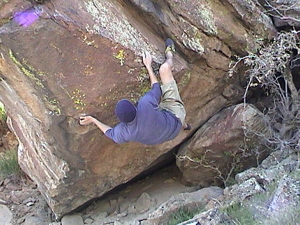 Bouldering in Idaho with Justin