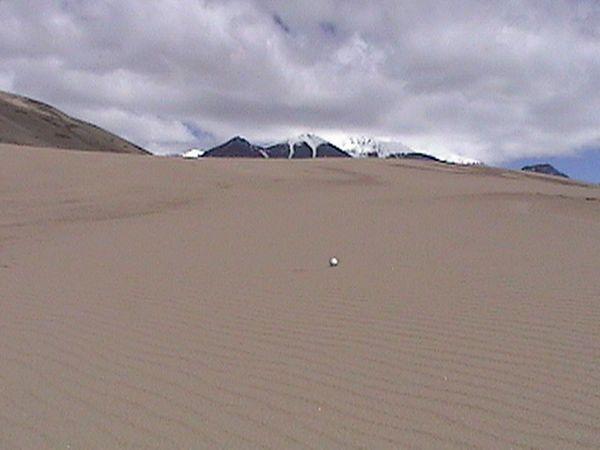 Big sandtrap!