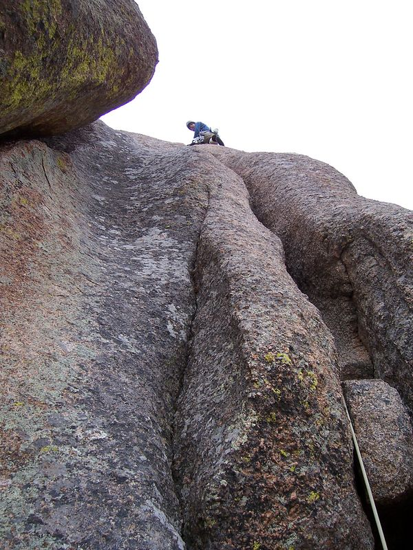 another Vedauwoo offwidth