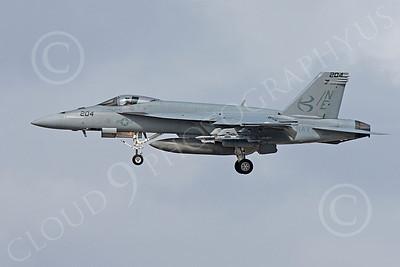 Boeing F-18E - USN 00042 Boeing F-18E Super Hornet US Navy 165903 VFA-137 USS Abraham Lincoln June 2010, by Michael Grove, Sr