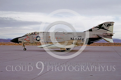 CAG 00009 McDonnell Douglas F-4 Phantom II VF-96 Dec 1969 by Peter B Lewis