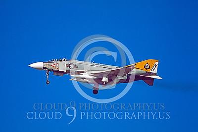 F4USN 00082 McDonnell Douglas F-4J Phantom II VF-92 #153827 USS Constellation 1975 by Peter B Lewis