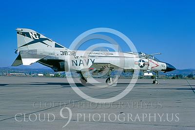 F4USN 00085 McDonnell Douglas F-4J Phantom II VF-96 # 153832 Miramar Oct1982 by Peter J Mancus
