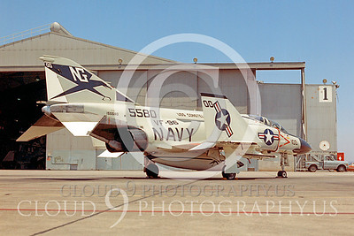 COP 00001 F-4 McDonnell Douglas F-4 Phantom II VF-96 May 1974 by Peter J Mancus