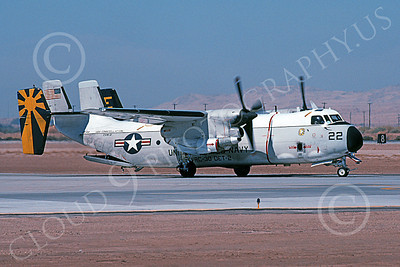 C-2 00051 A taxing Grumman C-2 Greyhound USN 162162 VRC-30 PROVIDERS USS Constellation NAF El Centro 10-2002 military airplane picture by Michael Grove, Sr