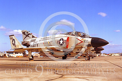 CAG 00013 McDonnell Douglas F-4 Phantom II VF-96 Miramar by Peter J Mancus