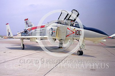 CAG 00007 McDonnell Douglas F-4 Phantom II VF-51 April 1971 Miramar by Peter J Mancus