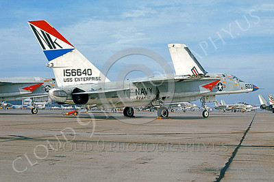 RA-5C 00023 North American RA-5C Vigilante RVAH-12 USN 156640 USS Enterprise NAS Miramar by Peter J Mancus