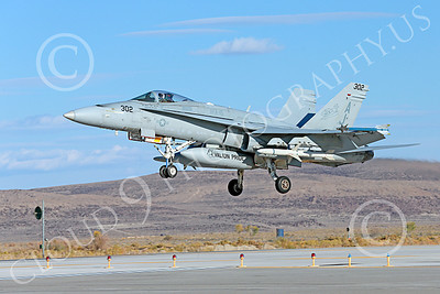 Boeing F-18C-USN 00132 A landing Boeing F-18C Hornet jet fighter USN VFA-15 VALIONS USS George H W Bush NAS Fallon 10-2013 military airplane picture by Peter J Mancus