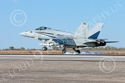 Boeing F-18C-USN 00280 A Boeing F-18C Hornet USN 164646 VFA-15 VALIONS USS George H W Bush AJ code lands at NAS Fallon 10-2013 military airplane picture by Peter J Mancus