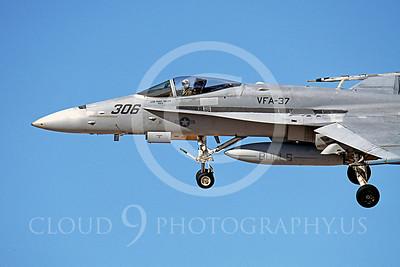 McDonnell Douglas F-18A - USN 00006 McDonnell Douglas F-18A Hornet US Navy VFA-37 BULLS USS Harry S Truman 2001 by Peter J Mancus
