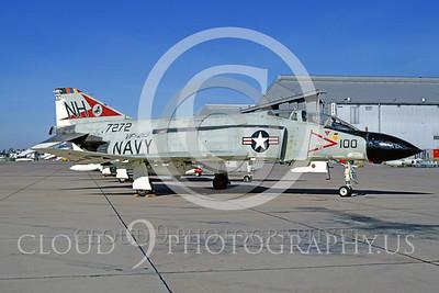 CAG 00010 McDonnell Douglas F-4 Phantom II VF-213 Nov 1972 Miramar by Peter J Mancus