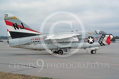 BICEN-A-7 00007 Vought A-7E Corsair II VA-22 USN 16 Oct 1976 by Peter J Mancus