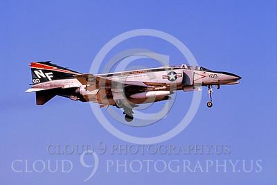 CAG 00016 McDonnelll Douglas F-4N Phantom II VF-161 USN March 1975 by Hideki Nagakubo