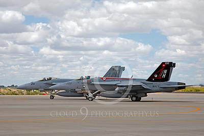Boeing F-18E - USN 00083 Boeing F-18E Super Hornet US Navy 166434 VFA-14 TOPHATTERS USS Nimitz NAS Fallon June 2010, by Peter J Mancus