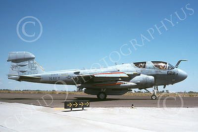 EA-6BUSN 00339 A taxing Grumman EA-6B Prowler USN 163520 USS Nimitz NAS Fallon 8-1992 military airplane picture by Michael Grove, Sr