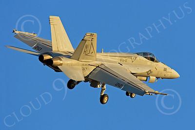 Boeing F-18E - USN 00024 Boeing F-18E Super Hornet US Navy VFA-14 USS Nimitz by Peter J Mancus