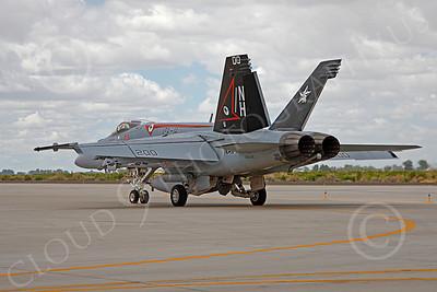 Boeing F-18E - USN 00075 Boeing F-18E Super Hornet US Navy 166434 VFA-14 TOPHATTERS USS Nimitz NAS Fallon June 2010, by Peter J Mancus