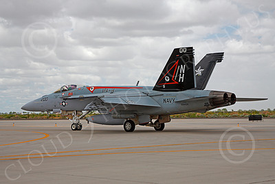 Boeing F-18E - USN 00061 Boeing F-18E Super Hornet US Navy 166434 VFA-14 TOPHATTERS USS Nimitz NAS Fallon June 2010, by Peter J Mancus