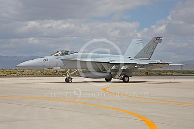 Boeing F-18E - USN 00087 Boeing F-18E Super Hornet US Navy VFA-14 TOPHATTERS USS Nimitz NAS Fallon June 2010, by Peter J Mancus