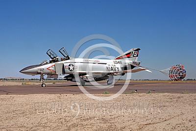 CHUTE 00048 McDonnell Douglas F-4J Phantom II VF-154 August 1975 by Peter B Lewis