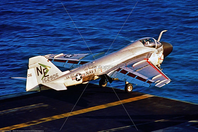 A-6-USN-VA-165 001 A Grumman A-6C Intruder, USN 152906, carrier based long range all weather bomber, VA-165 BOOMERS, USS Ranger, NE tail code, launching from the Ranger, 12-1967, official USN photograph via Stephen W  D  Wolf coll   853_4848  Dt