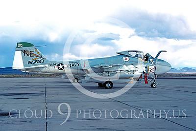 COP 00007 Grumman A-6 Intruder USN VA-145 Oct 1978 by Peter J Mancus