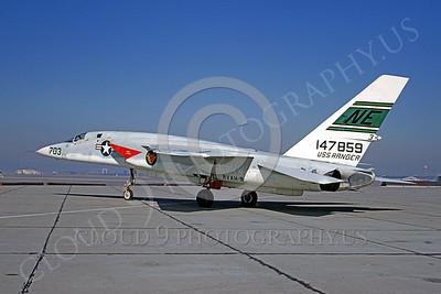 RA-5C 00007 North American RA-5C Vigilante RVAH-9 USN 147859 NAS Alameda 23 October 1968 by Peter B Lewis
