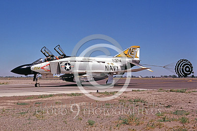 CHUTE 00049 McDonnell Douglas F-4J VF-21 August 1975 by Peter B Lewis