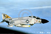 F-4II-USN-VF-21 0004 A flying McDonnell Douglas F-4J Phantom II USN jet fighter 155808 VF-21 FREELANCERS USS Ranger USN via Tailhook Col  military airplane picture produced by Cloud 9 Photography     DONEwt